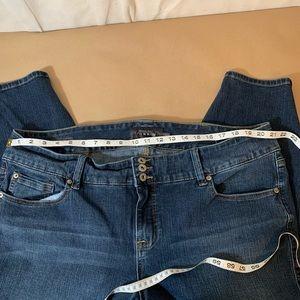 torrid Jeans - Women's plus size cropped jeggings
